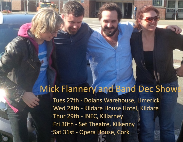 Mick Flannery @ Dolans Warehouse - Limerick City, Ireland