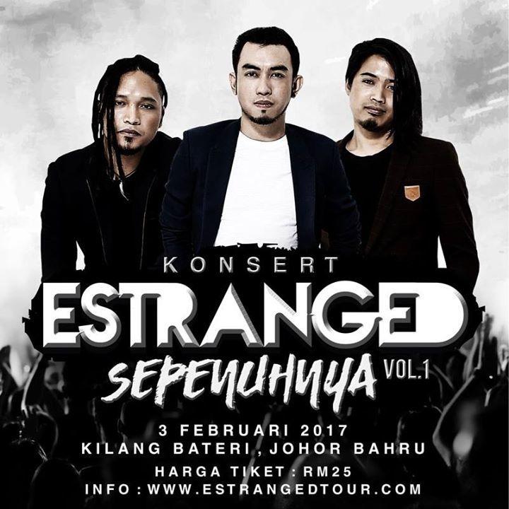 ESTRANGED Tour Dates