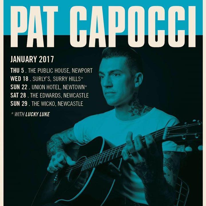 Pat Capocci Tour Dates