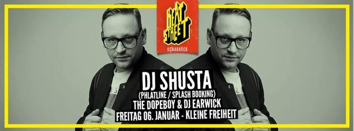 DJ Shusta @ Beat Street @ Kleine Freiheit - Osnabrück, Germany