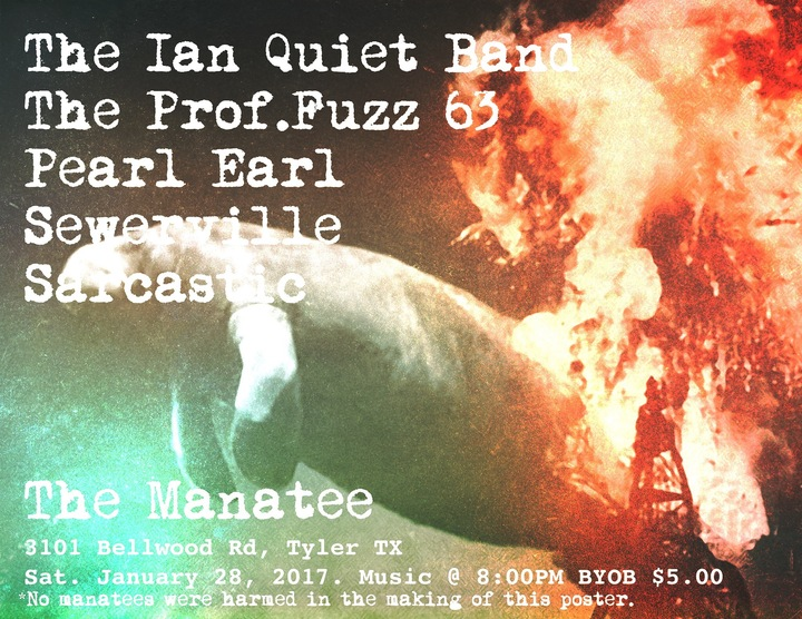 Prof.Fuzz 63 @ The Manatee - Tyler, TX