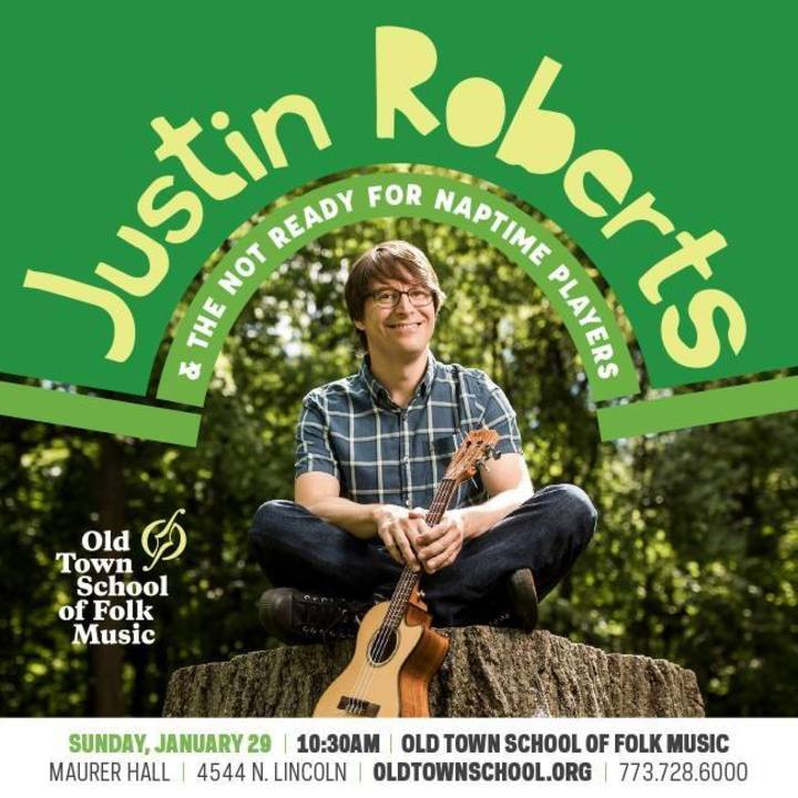 Justin Roberts @ Stroede Center for the Arts - Defiance, OH