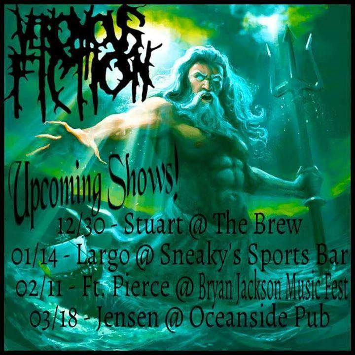 Venomous Fiction Tour Dates