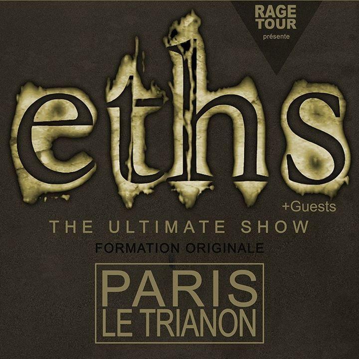 Eths Tour Dates