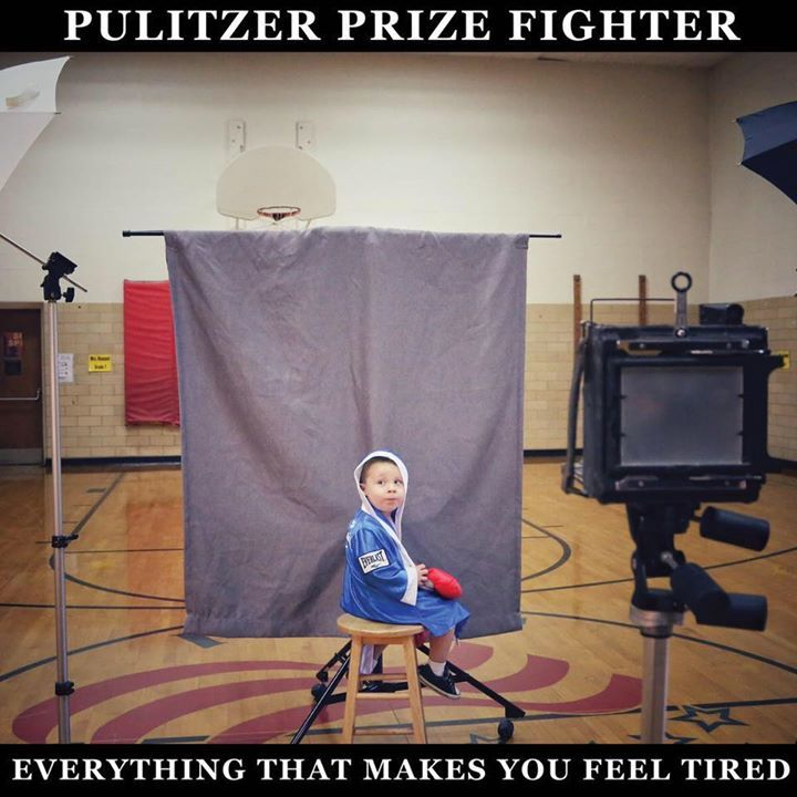 Pulitzer Prize Fighter Tour Dates