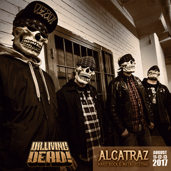 Dr Living Dead @ Alcatraz Metal Fest - Kortrijk, Belgium