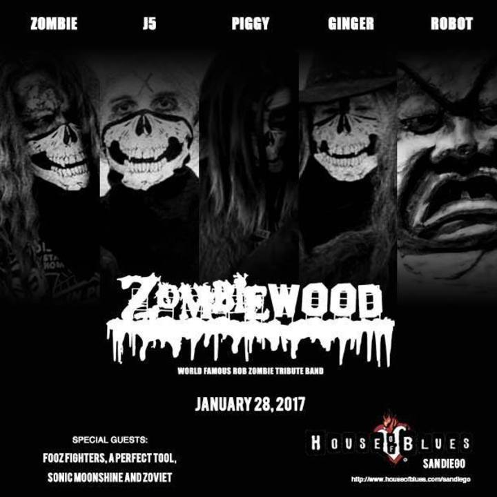Zombiewood - Rob Zombie Tribute Band Tour Dates