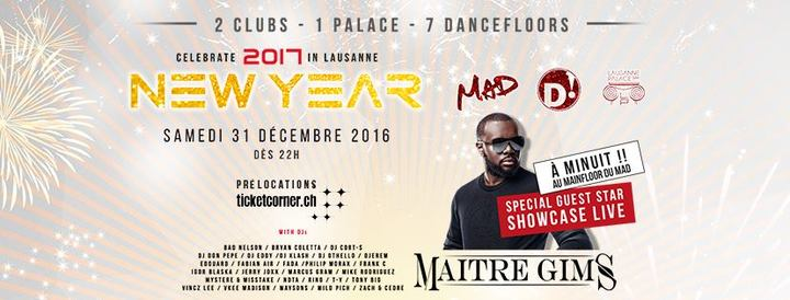 Rino @ New Year Mad Club  - Lausanne, Switzerland