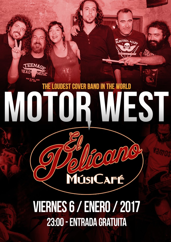 Motor West @ El Pelícano - Cadiz, Spain