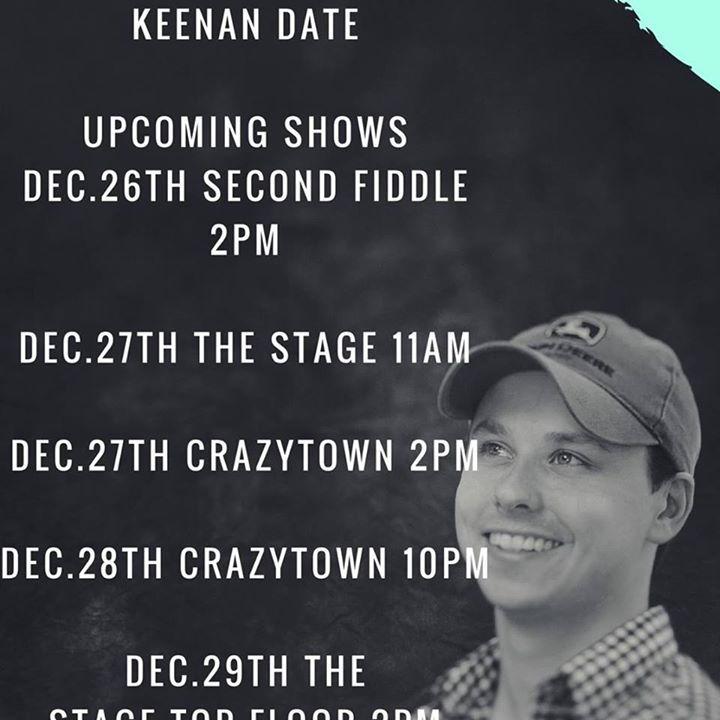 Keenan Date Tour Dates