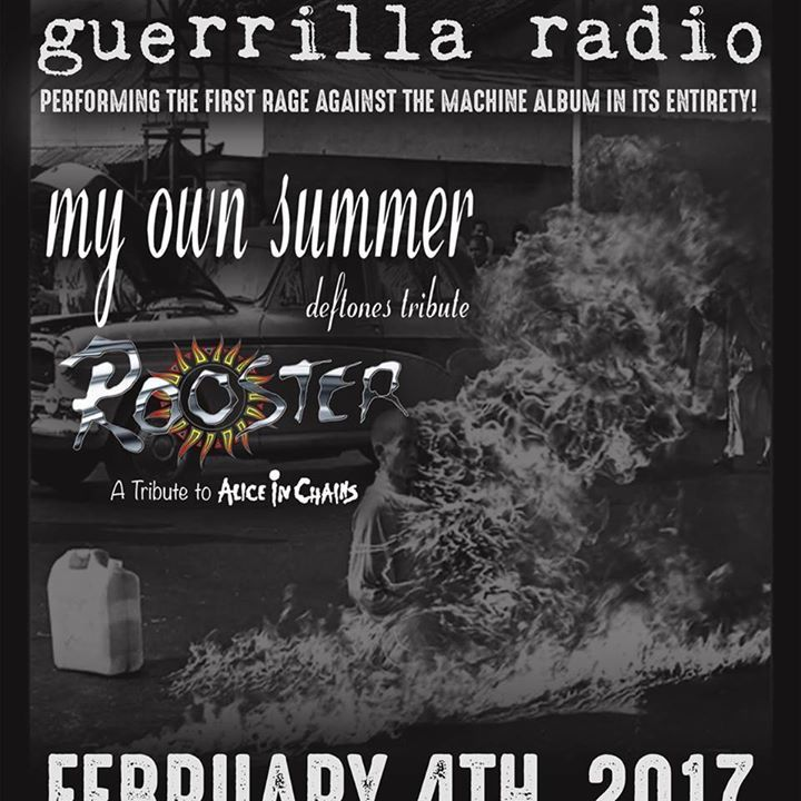 Guerilla Radio Tour Dates