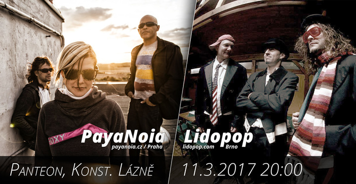 PayaNoia @ Music Panteon club - Konstantinovy Lazne, Czech Republic