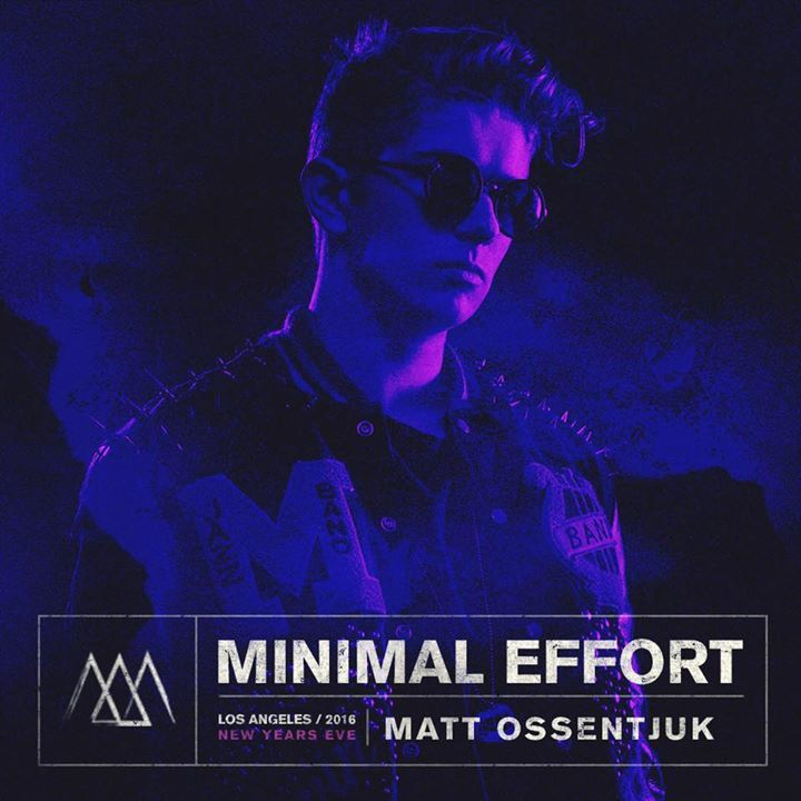 Matt Ossentjuk Tour Dates