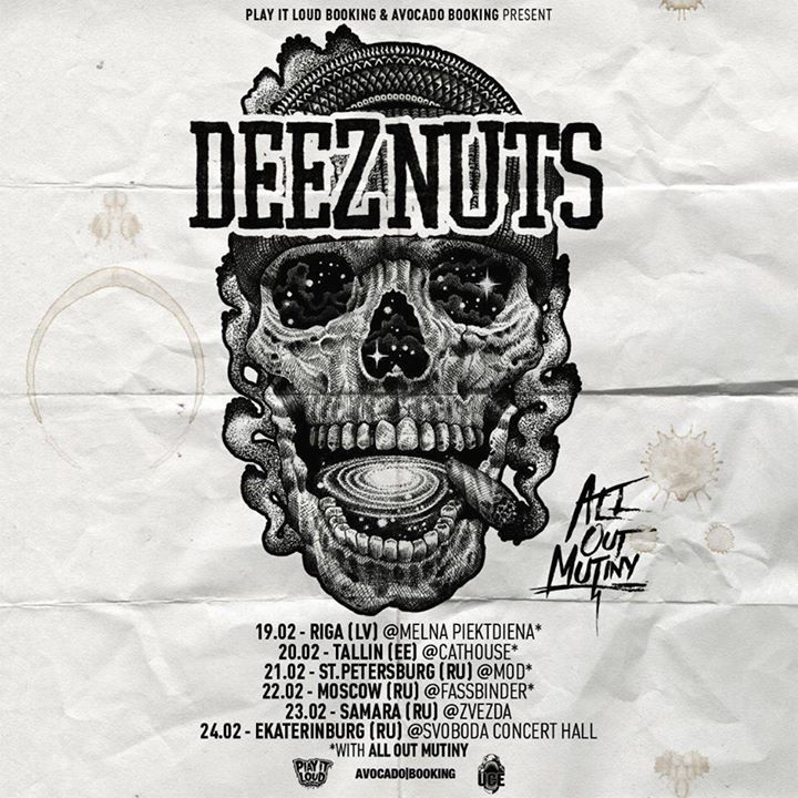 All Out Mutiny Tour Dates
