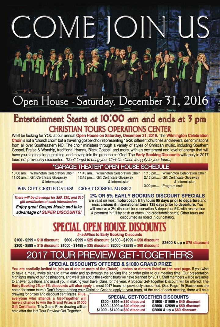 Wilmington Celebration Choir @ Christian Tours  - Newton, NC