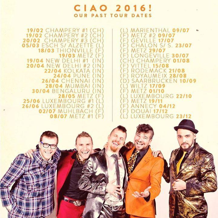 LA FANFARE COUCHE-TARD Tour Dates