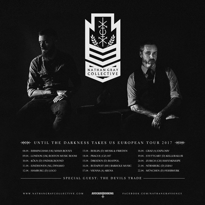 Nathan Gray Collective Tour Dates
