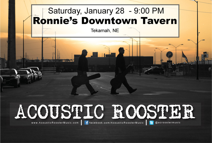 Acoustic Rooster @ Ronnie's Bar - Tekamah, NE