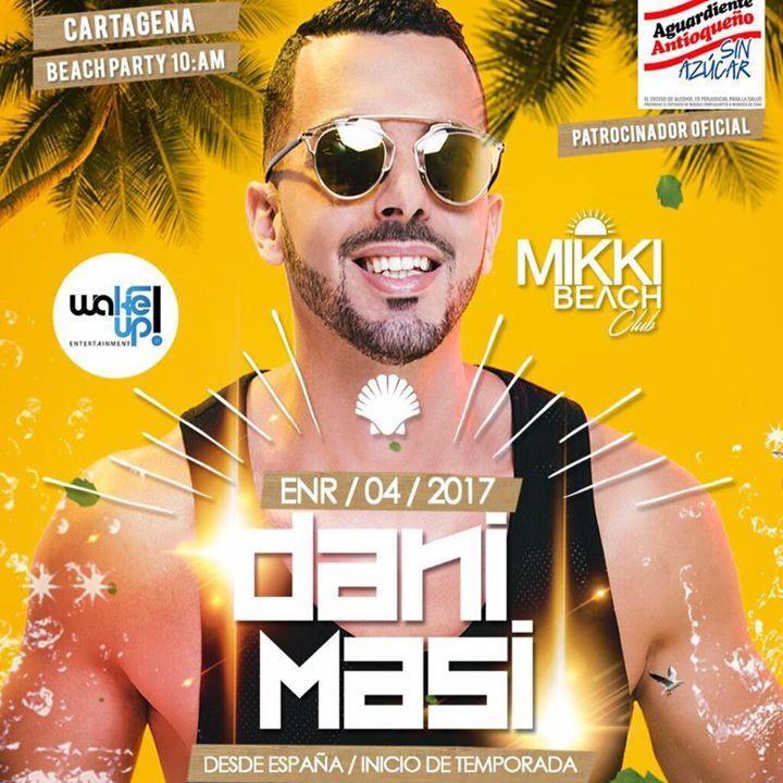 Dani Masi Tour Dates