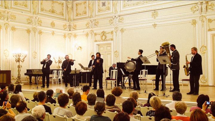 Добраночь @ Малый зал Филармонии - Saint Petersburg, Russia