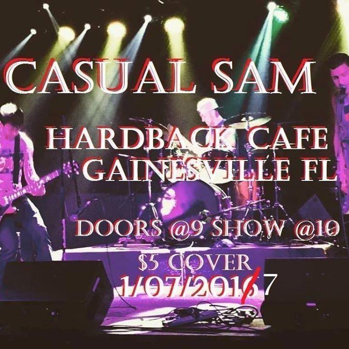 Casual Sam Tour Dates