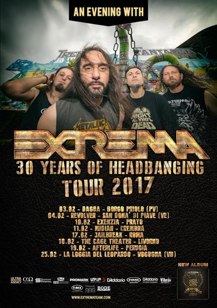 Extrema Tour Dates