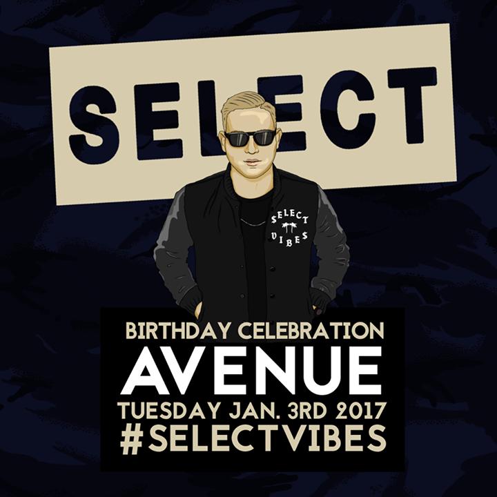 DJ Select Tour Dates