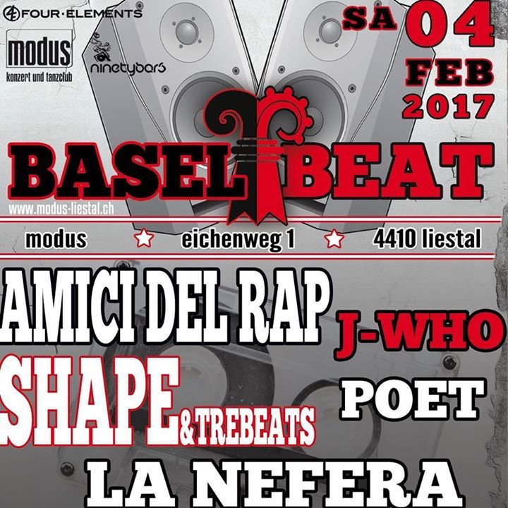 Amici Del Rap Tour Dates