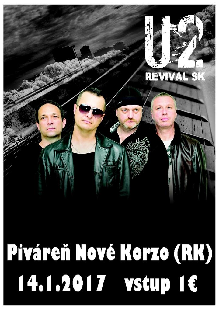 U2 Revival SK @ Nové Korzo - Ružomberok, Slovakia