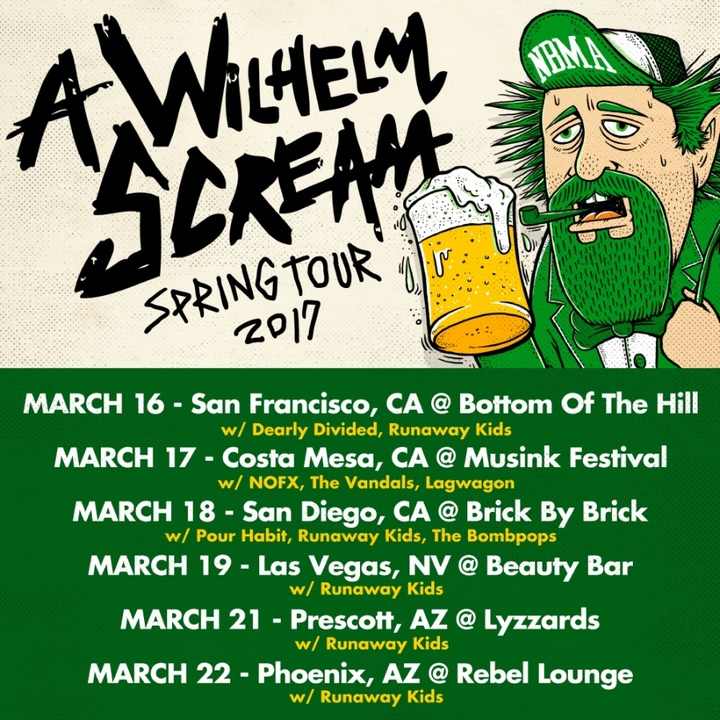A Wilhelm Scream Tour Dates