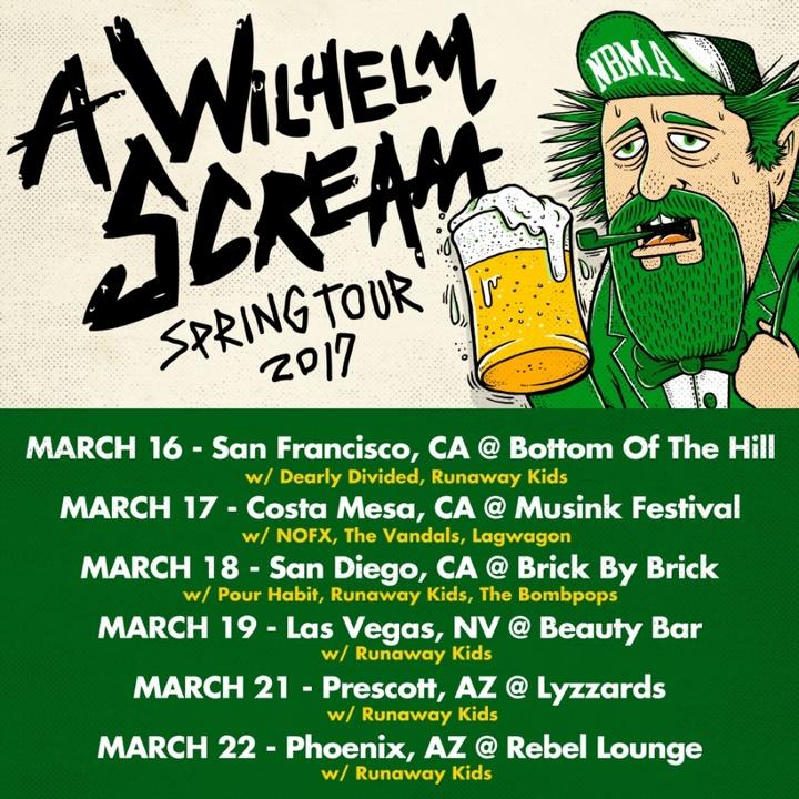 A Wilhelm Scream Tour Dates