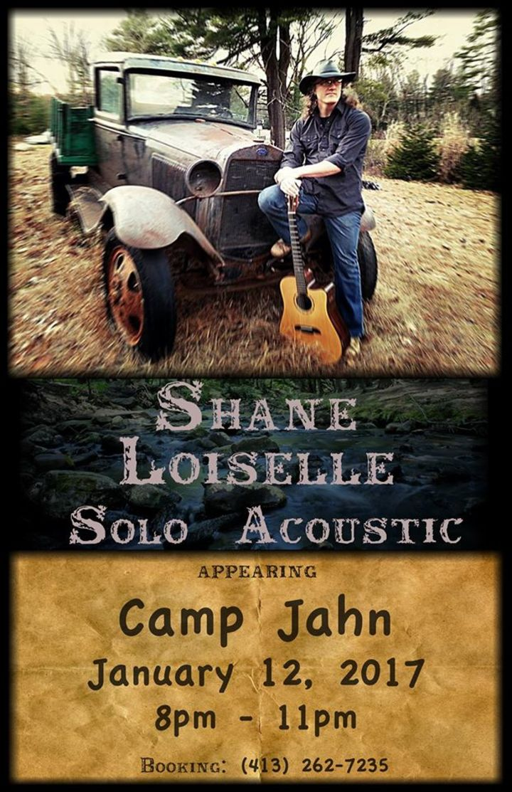 Shane Loiselle Solo Acoustic Tour Dates