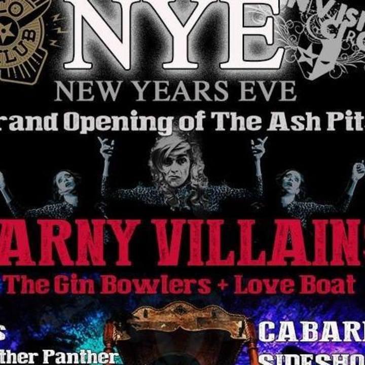 The Carny Villains Tour Dates
