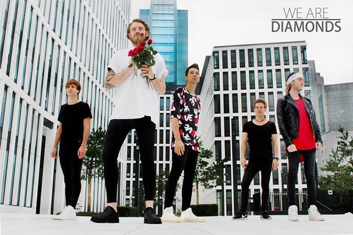 We are Diamonds. @ Paula Music Night - Offenbach, Germany