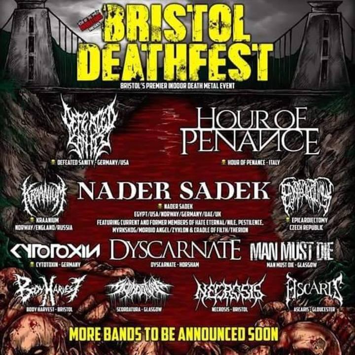 Man Must Die @ Bristol Death Fest - Bristol, United Kingdom