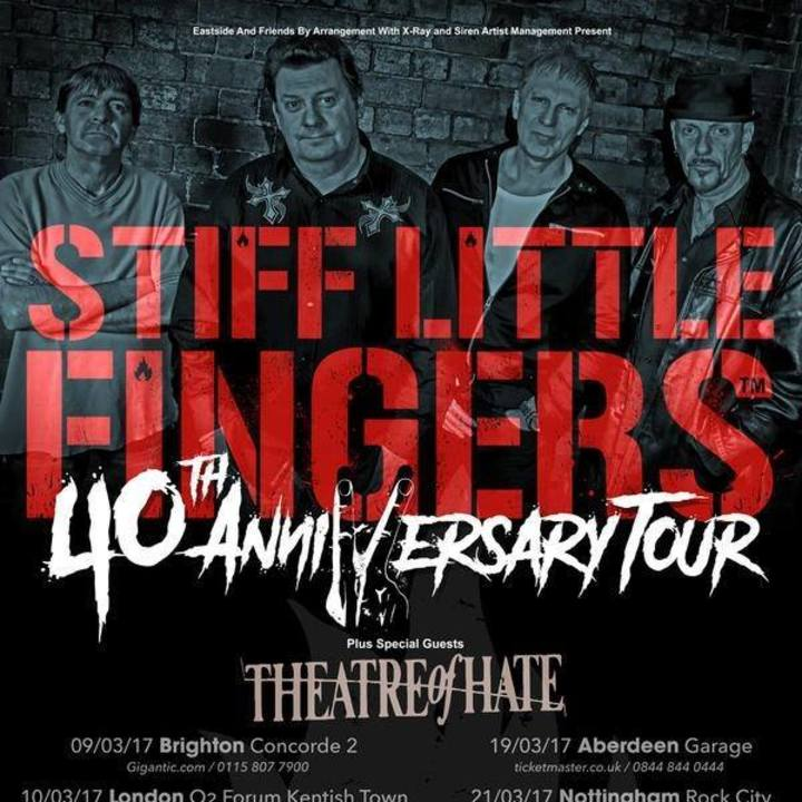 Stiff Little Fingers @ THE LIVE ROOMS - Chester, United Kingdom