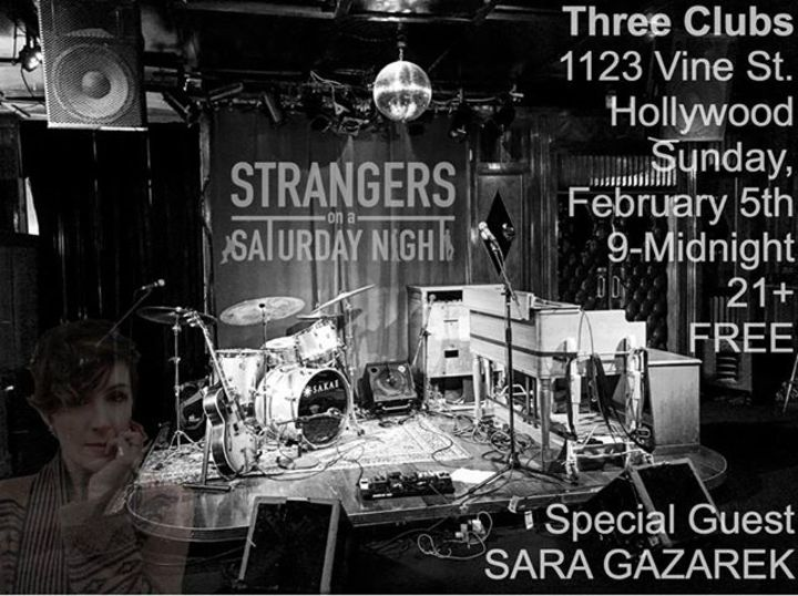 Strangers On A Saturday Night Tour Dates