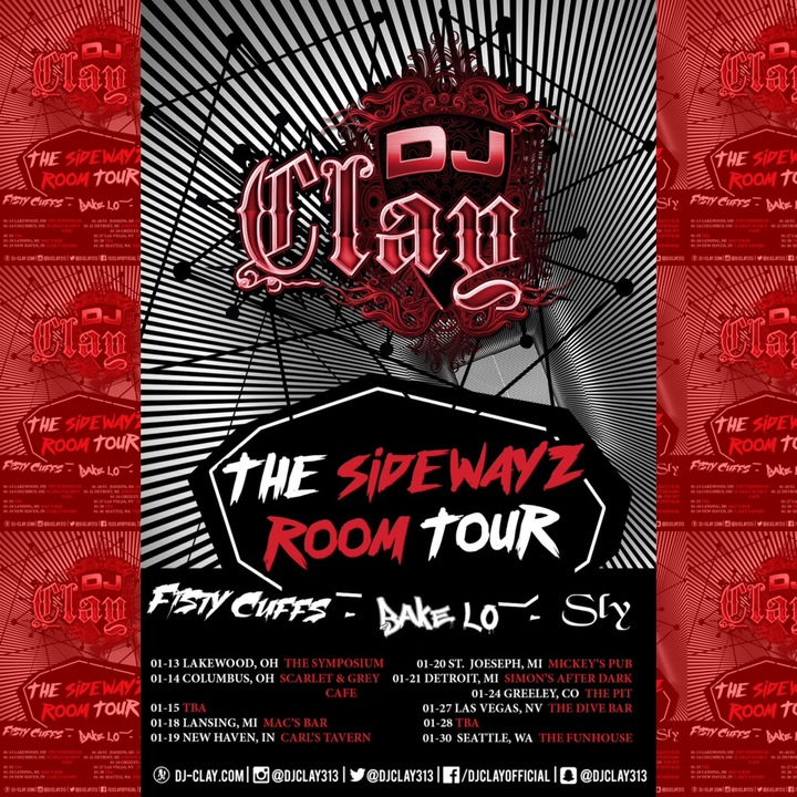 Dj Clay Official Tour Dates