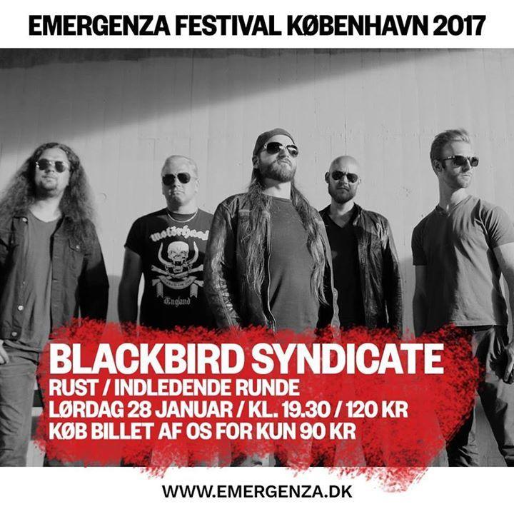Blackbird Syndicate Tour Dates