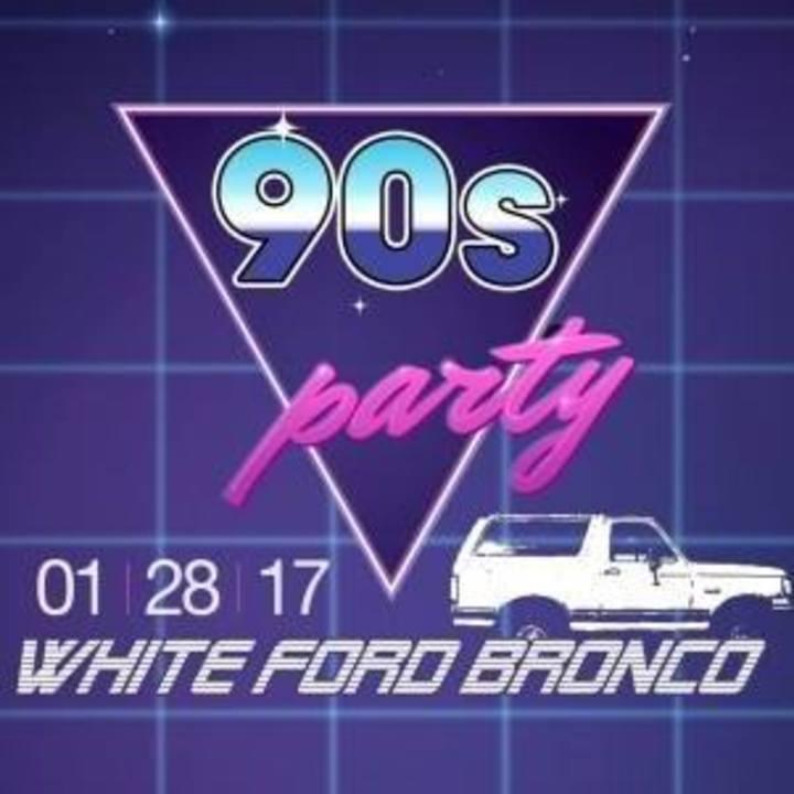 White Ford Bronco @ Highline Ballroom - New York, NY