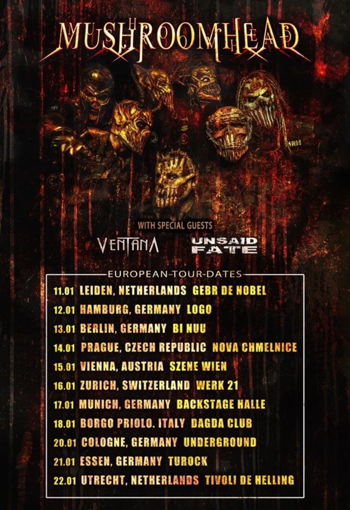 Mushroomhead Tour Dates