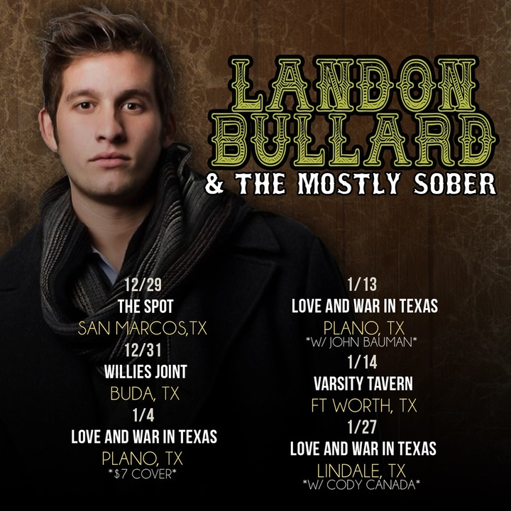 Landon Bullard Tour Dates