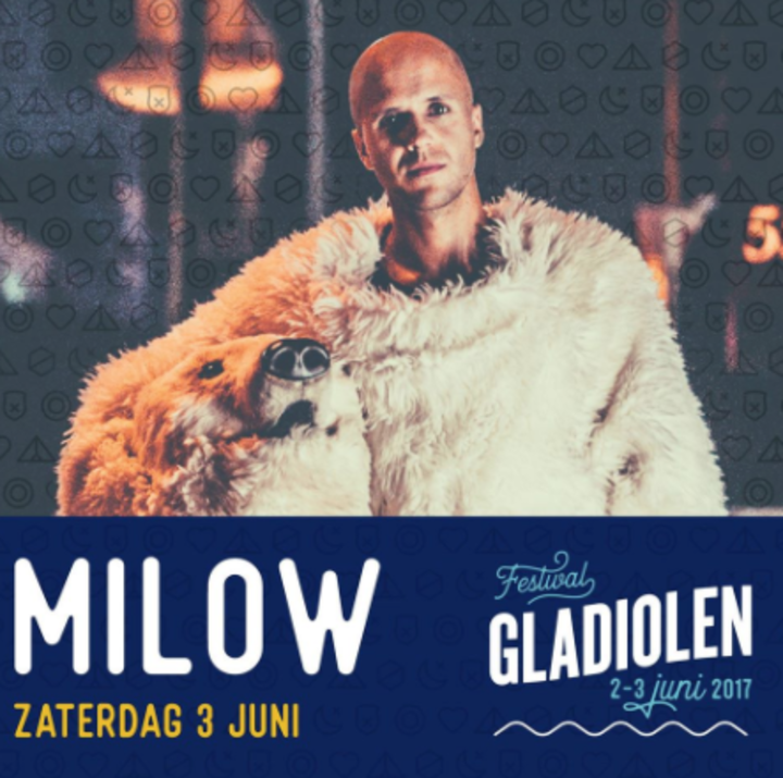 Milow @ Gladiolen - Olen, Belgium