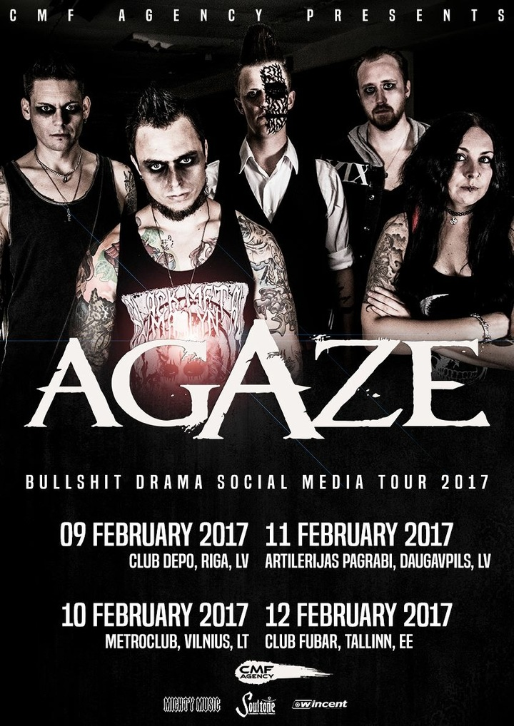Agaze Tour Dates