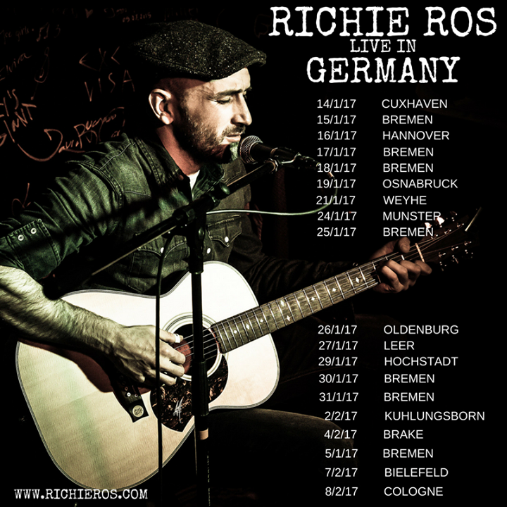 Richie Ros Music Tour Dates