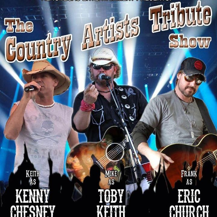 Country Artists Tribute @ Sammy's Showroom at Harrah's Reno - Reno, NV