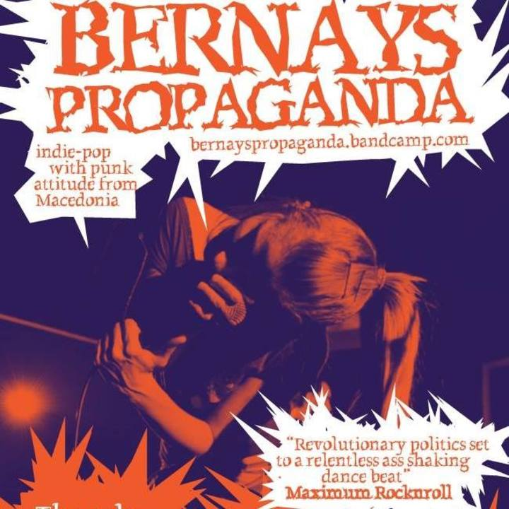 BERNAYS PROPAGANDA Tour Dates