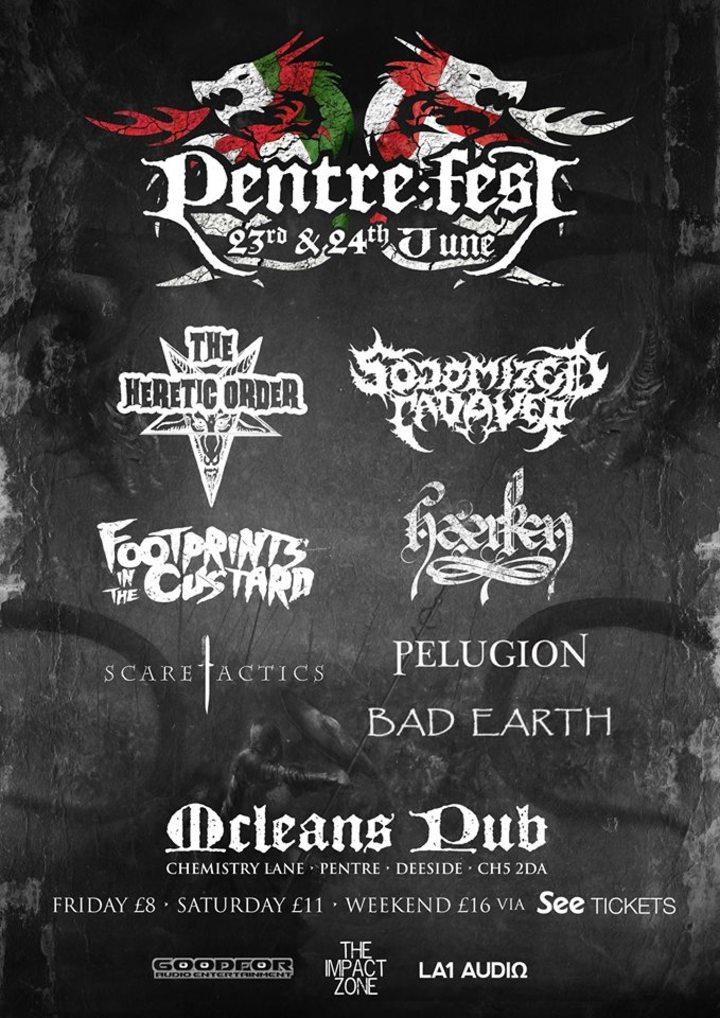 Deified @ Mcleans Pentre - Mancot, United Kingdom