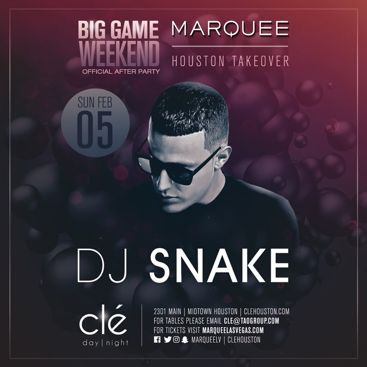 DJ Snake @ Clé - Houston, TX