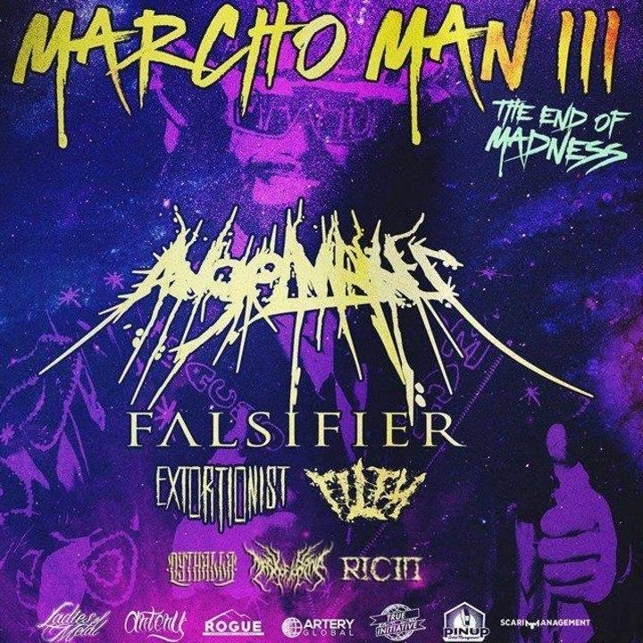 Ricin Tour Dates